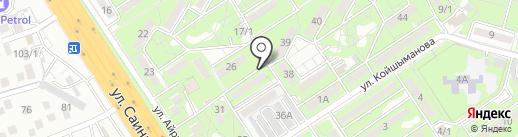 M-KEY на карте Алматы