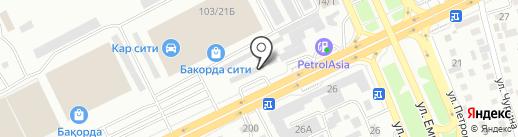 Магазин по продаже запчастей для манипуляторов, бетономешалок, самосвалов на карте Алматы