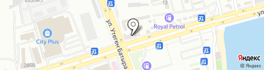 Stavka на карте Алматы