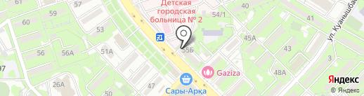Heal in home, ТОО на карте Алматы