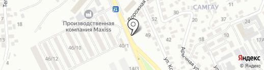 Магазин автотоваров Шубаев Ж.К. на карте Алматы