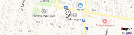 Айгерим на карте КазЦика