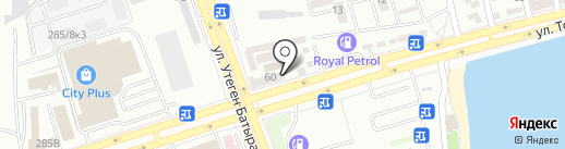Алихан на карте Алматы