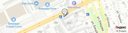 Цезарь на карте Алматы