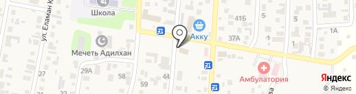 Участковый пункт полиции №5 Илийского района на карте КазЦика