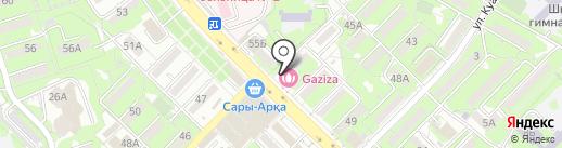Creperie на карте Алматы