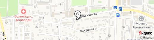 Агентство по автострахованию на карте Боралдая