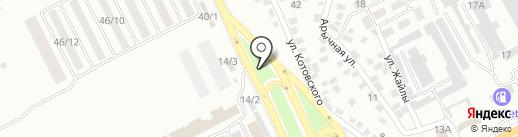 У Малика на карте Алматы