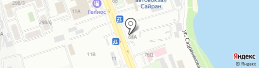 Табыс Inter Logistics на карте Алматы