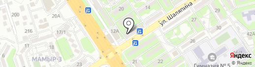Ломбард Софит, ТОО на карте Алматы