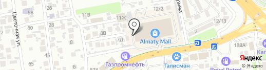 Magnum АТАК на карте Алматы