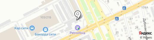 Hanel Motors на карте Алматы