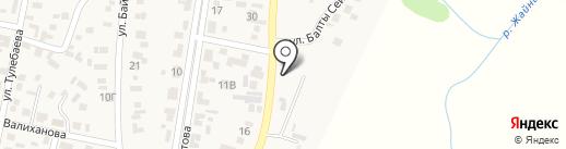 Шиномонтажная мастерская на карте КазЦика