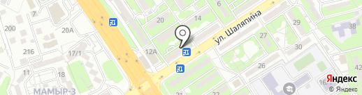 Мурагер на карте Алматы