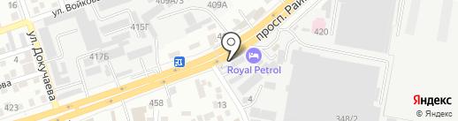 Центр шашлыка на карте Алматы