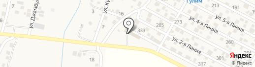 Гулим на карте Комсомола