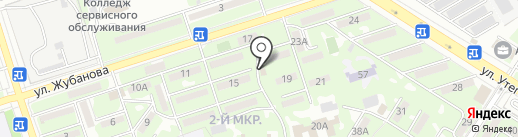Каракерей на карте Алматы