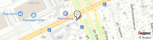 АРМ-Д на карте Алматы