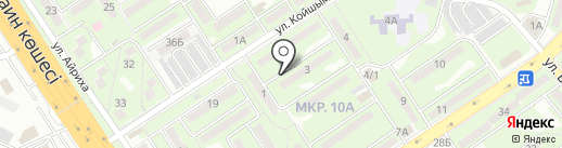 Алло эвакуатор на карте Алматы