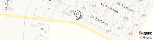 Шиномонтажная мастерская на карте Комсомола
