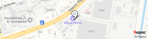 Texar Motors на карте Алматы