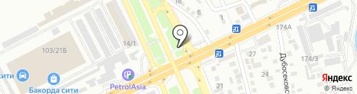 Ак-Жол, продовольственный магазин Спирин на карте Алматы