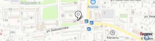 Банкомат, Народный Банк Казахстана на карте Боралдая