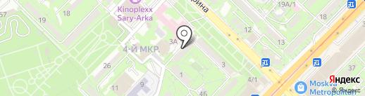 Айжан на карте Алматы