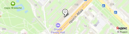 KIP на карте Алматы