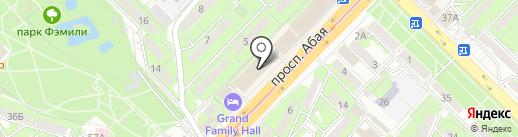 Step up Almaty на карте Алматы