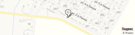 Рауан на карте Комсомола