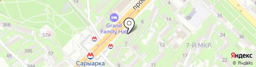 PODARI.KZ на карте Алматы
