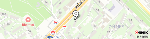 Bongo на карте Алматы