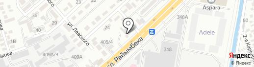 ILMIRA-LIM на карте Алматы