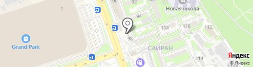 На здоровье на карте Алматы