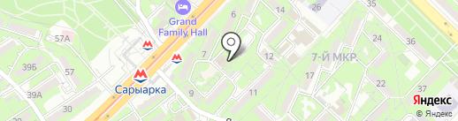 У Ули на карте Алматы