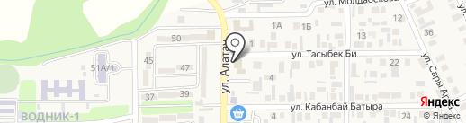 Тренажерный зал на карте Боралдая