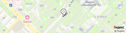 Адвокатская контора Маратов М.М. на карте Алматы