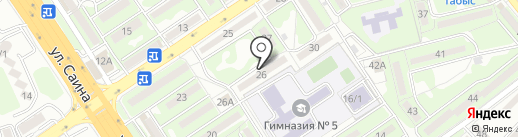 Дидар на карте Алматы