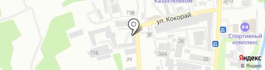 Илькомстрой на карте Алматы
