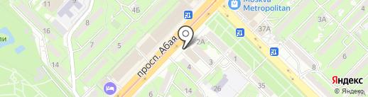 MOVE на карте Алматы