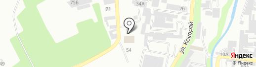 Аянавто, ТОО на карте Алматы