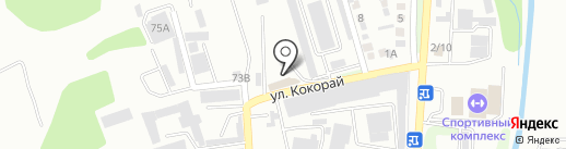 Тамыз на карте Алматы