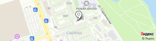 Секонд-хенд на карте Алматы