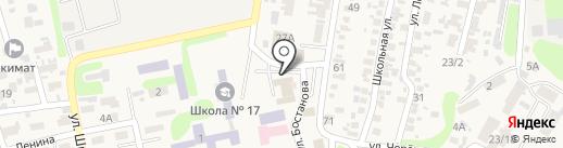 Клуб настольного тенниса и видеоигр на карте Боралдая