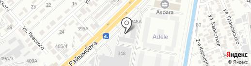 Сапа Строй Сервис на карте Алматы