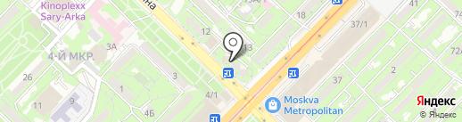 Elite Ломбард, ТОО на карте Алматы