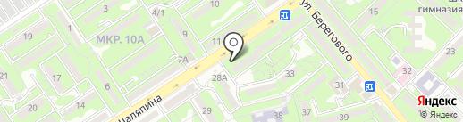 ЯрВладРостСтрой-Холдинг, ТОО на карте Алматы