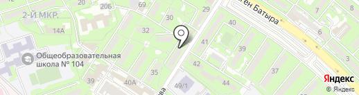 Стеко ЛТД, ТОО на карте Алматы