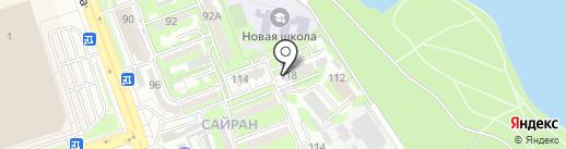 Эко Алматы, ТОО на карте Алматы